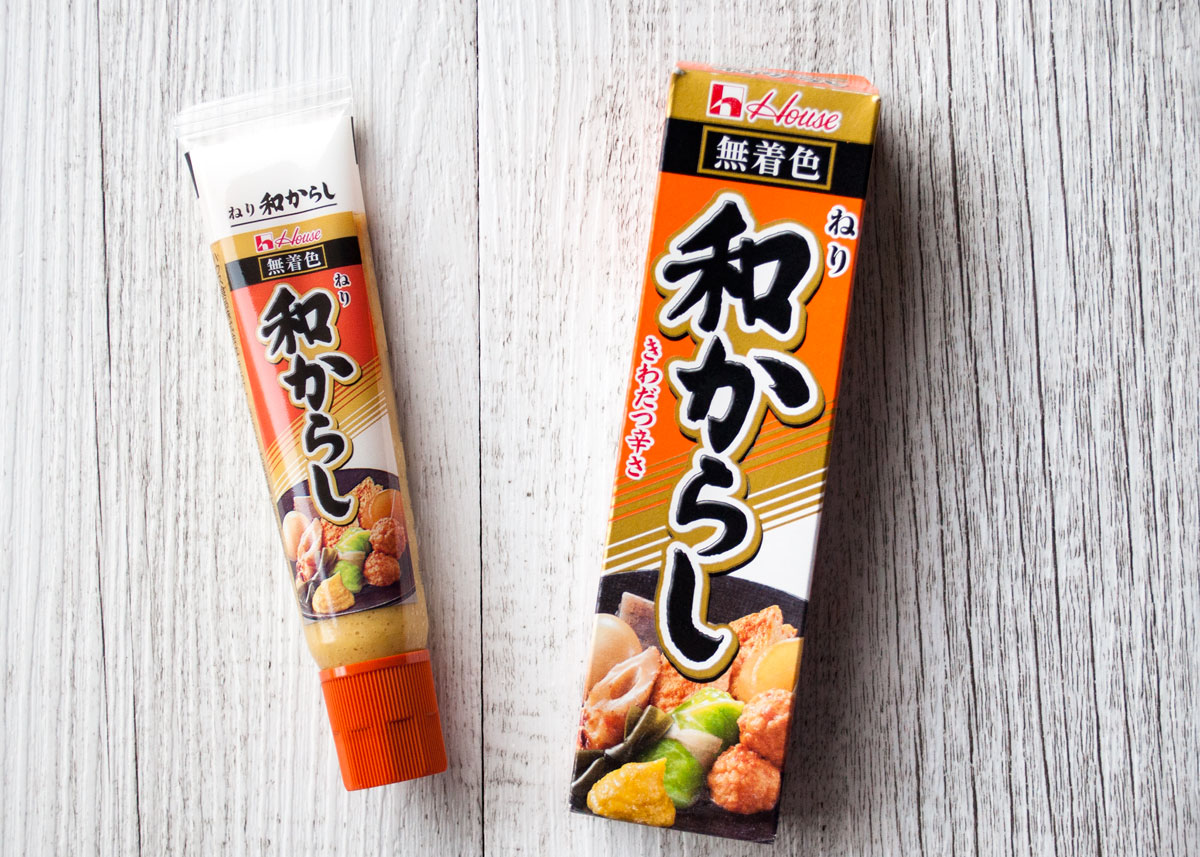 Japanese mustard - karashi