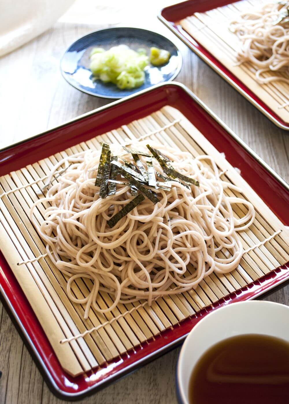 Zaru Soba Cold Soba Noodles Recipetin Japan