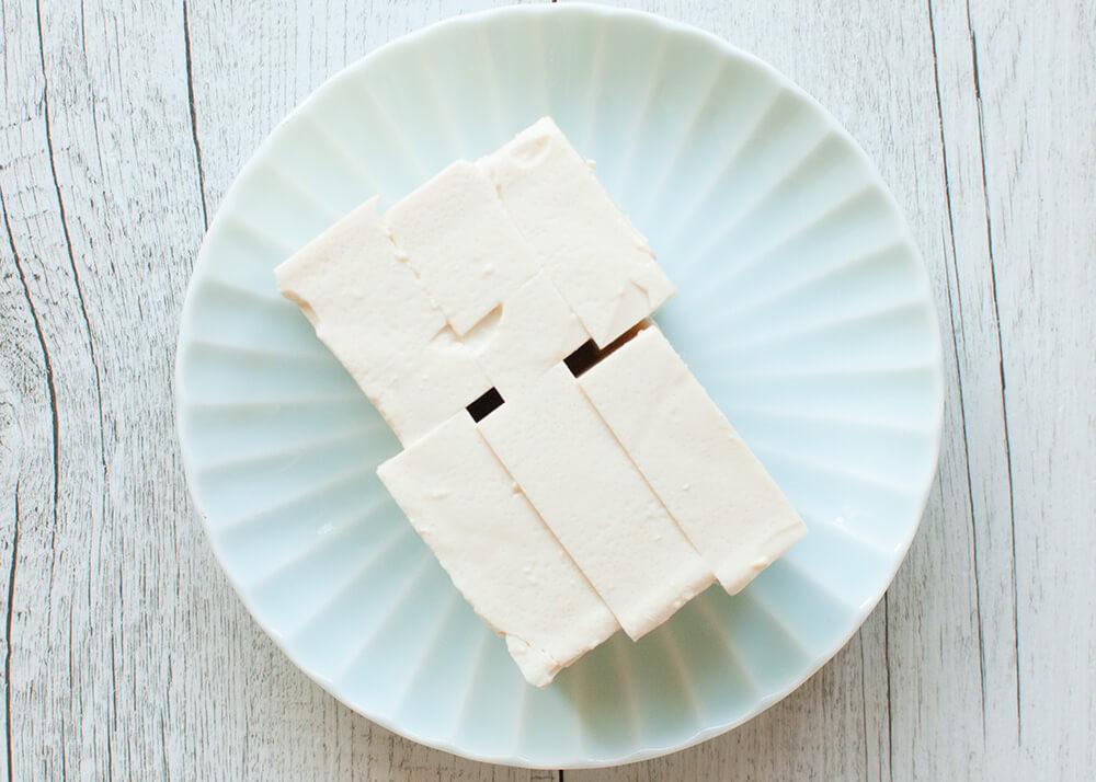 Firm silken tofu.