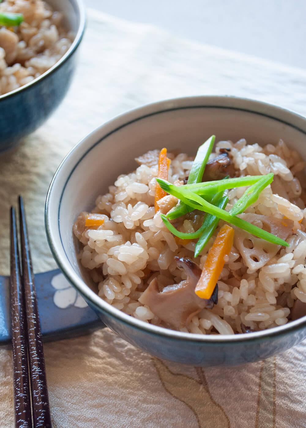Gomoku Gohan Japanese Mixed Rice Recipetin Japan