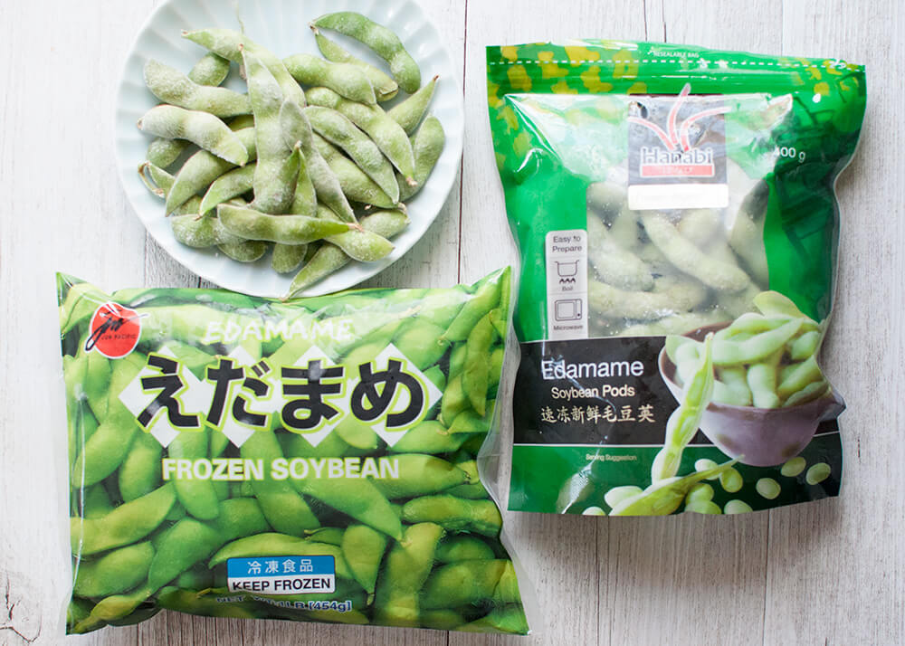 Frozen edamame is sold at super markets and Asina/Japanese grocery stores.