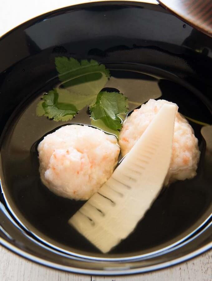 Hero shot of Shrimp Balls in Clear Soup.
