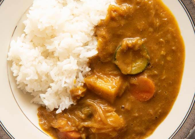 Home Made Japanese Vegetarian Curry Recipetin Japan