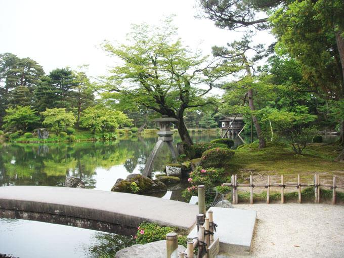 Kenrokuen garden in Kanazawa.