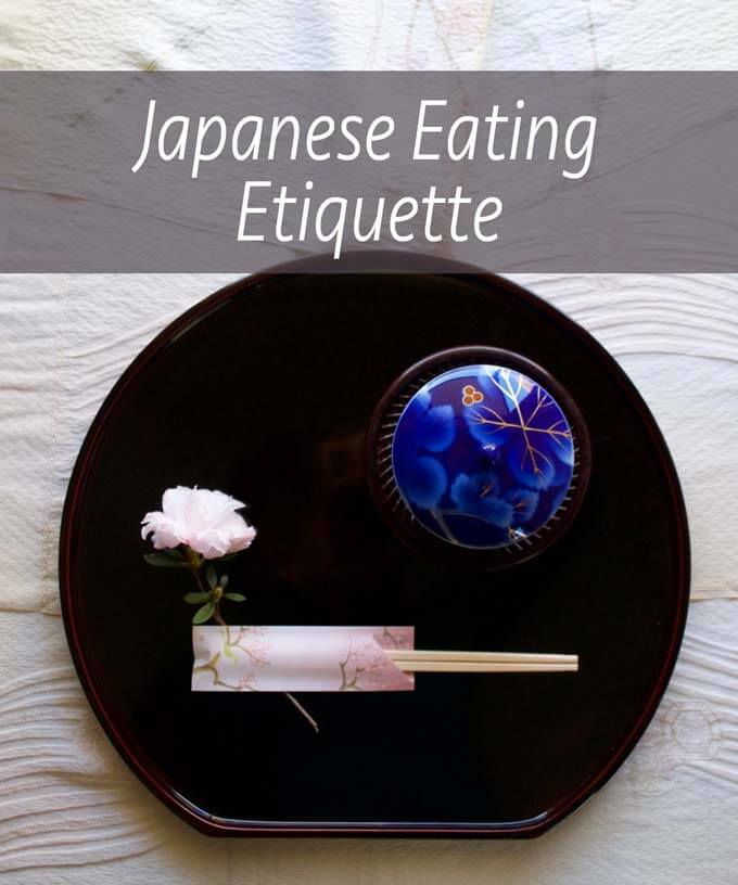 Japanese Eating Etiquette
