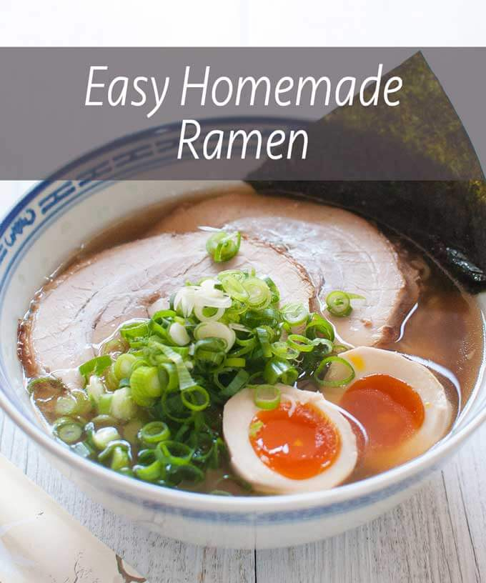 Easy Japanese Ramen Noodles Recipetin Japan