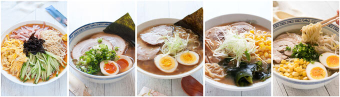 Ramen collections already posted.