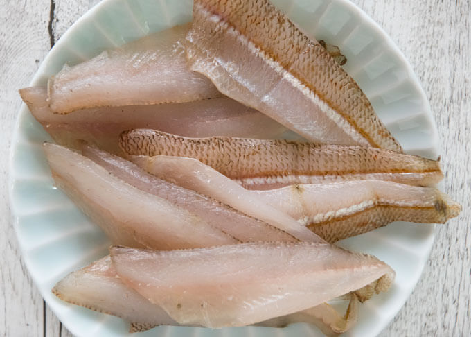 Semi Dried Whiting Fillets Whiting Bunkaboshi Recipetin Japan