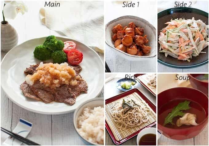Dinner idea with Bonito Kakuni.
