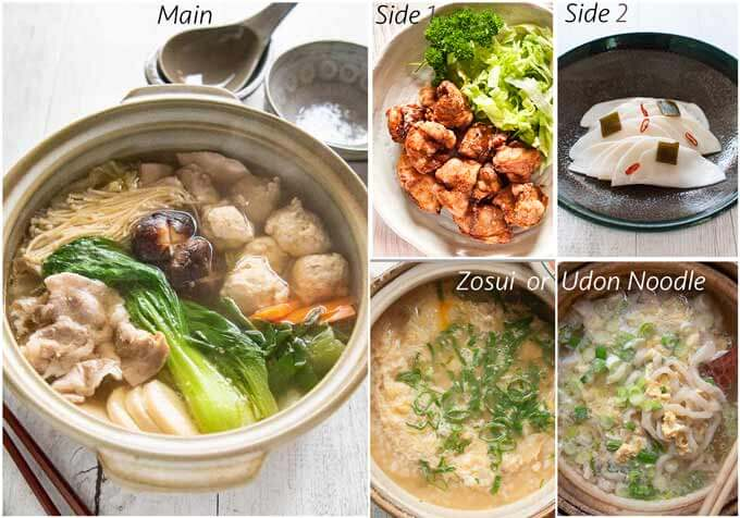 Dinner idea with Chanko Nabe.