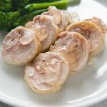 Salty Chicken Rolls in a serving late.
