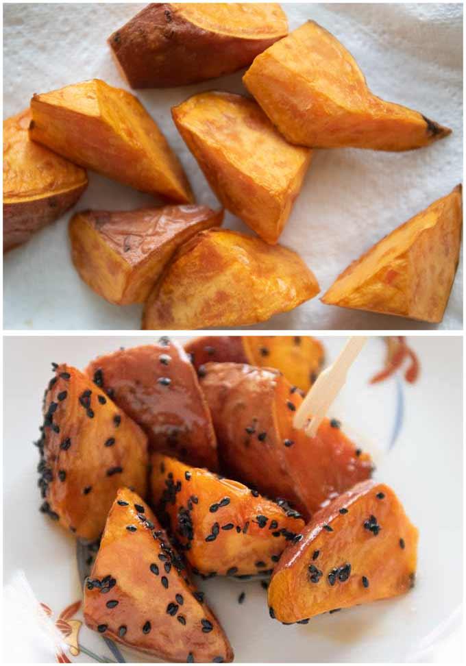 Candied Sweet Potato made with Beauregard.