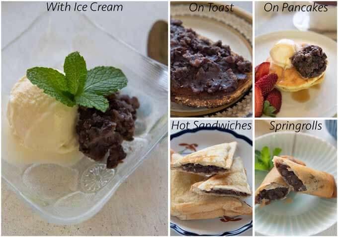 Ideas to eat Anko with.
