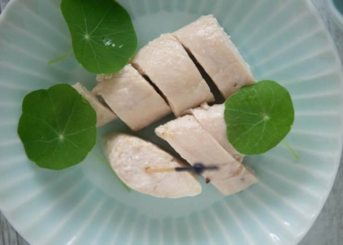 Top-down photo of Marinated Chicken Tenderloin.