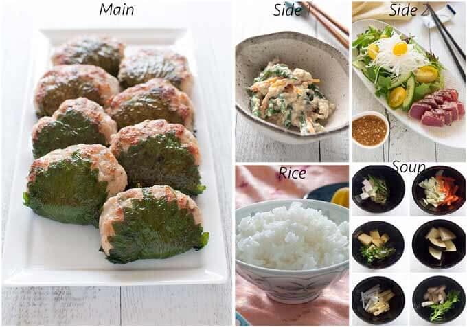 Meal ides with Tuna Sashimi Salad.