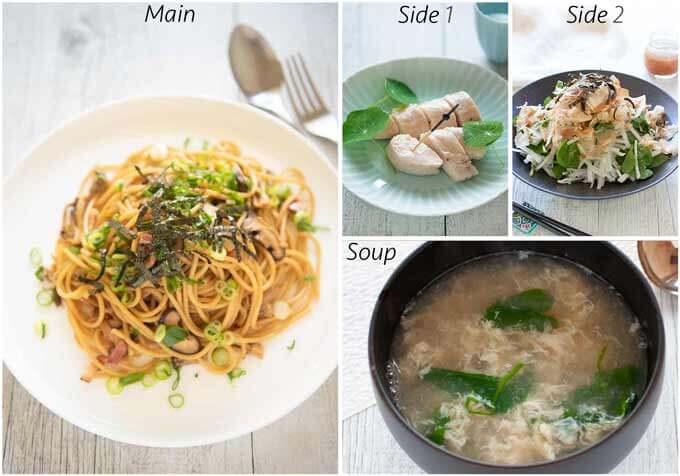 MEal idea with Wafū Mushroom Pasta.